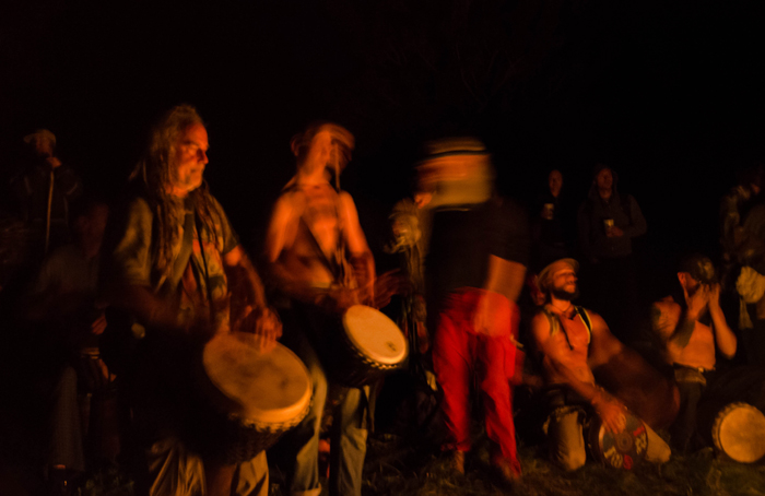 Drum Circle on the Hill