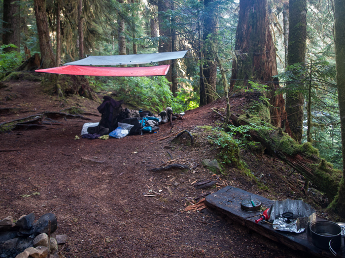 Tarps and Bivvy