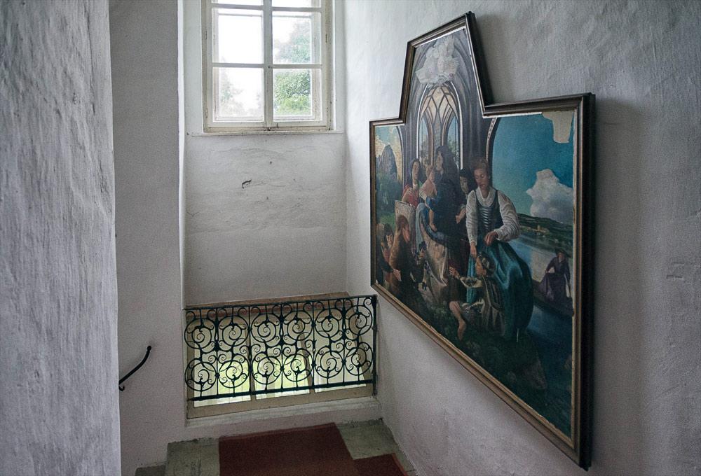 Schloss Walchen Hallway