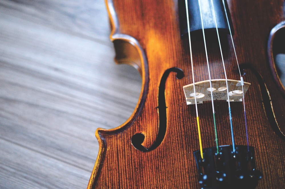 Musical instruments make great gifts.