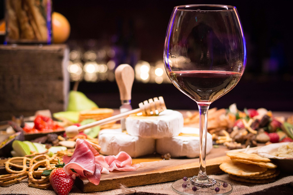 A 6-course meal with wine pairings